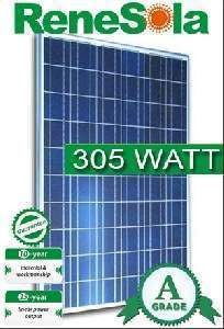 305 Watt Renesola Virtus Ii Solar Panel Solar Products