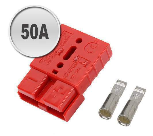 50a-anderson-plug-red